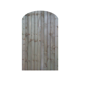Arch Top Closeboard Gate
