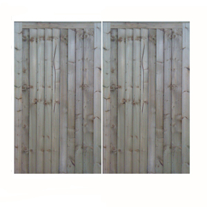 Pair of Closeboard Gates