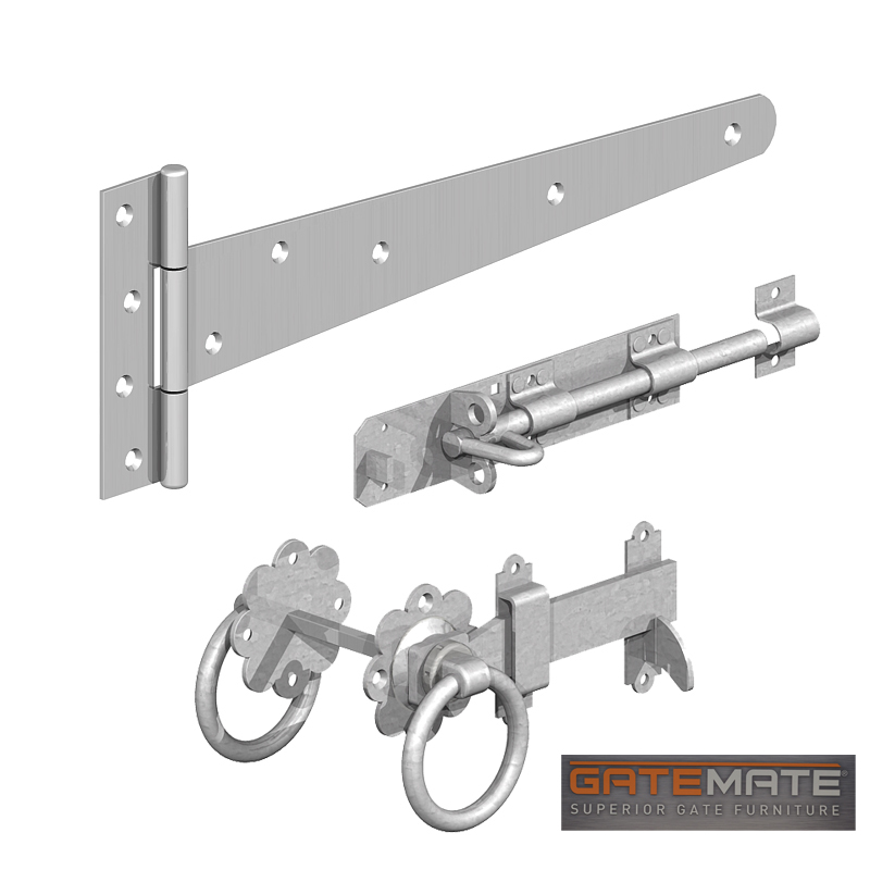 Gatemate Single Gate Kit Galvanised