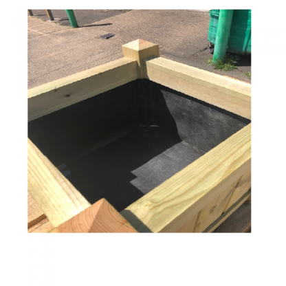 Planter with Lining