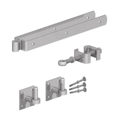 Field Gate Adjustable Fitting Set Galvanised
