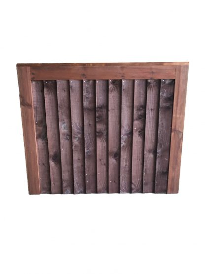 Closeboard Gate Brown Small