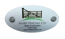 Sharp Fencing Ltd Logo