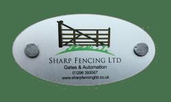 Sharp Fencing Ltd Logo