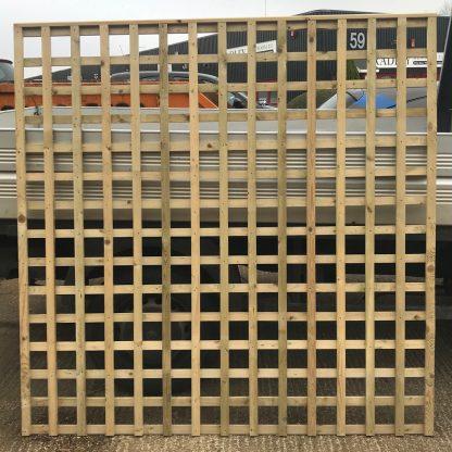Trellis Panel 6ft x 6ft Green Treated