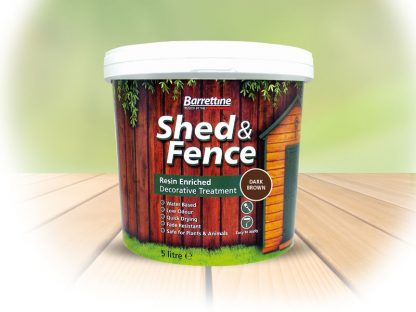 Shed & Fence Treatment Dark Brown 5 Litre